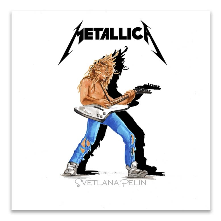 Metallica, James Hetfield por svetliaciok